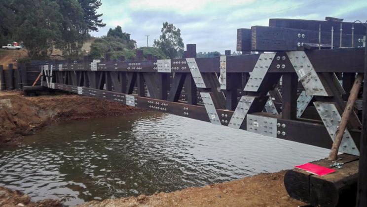 Estructuras de puente modular