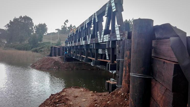 Perfil del puente modular