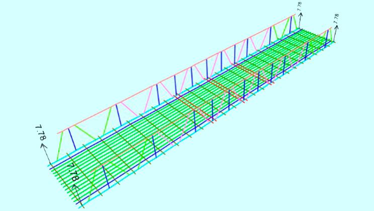 Dibujo puente modular